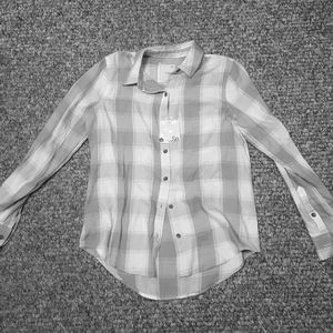 Womens Button Down Top